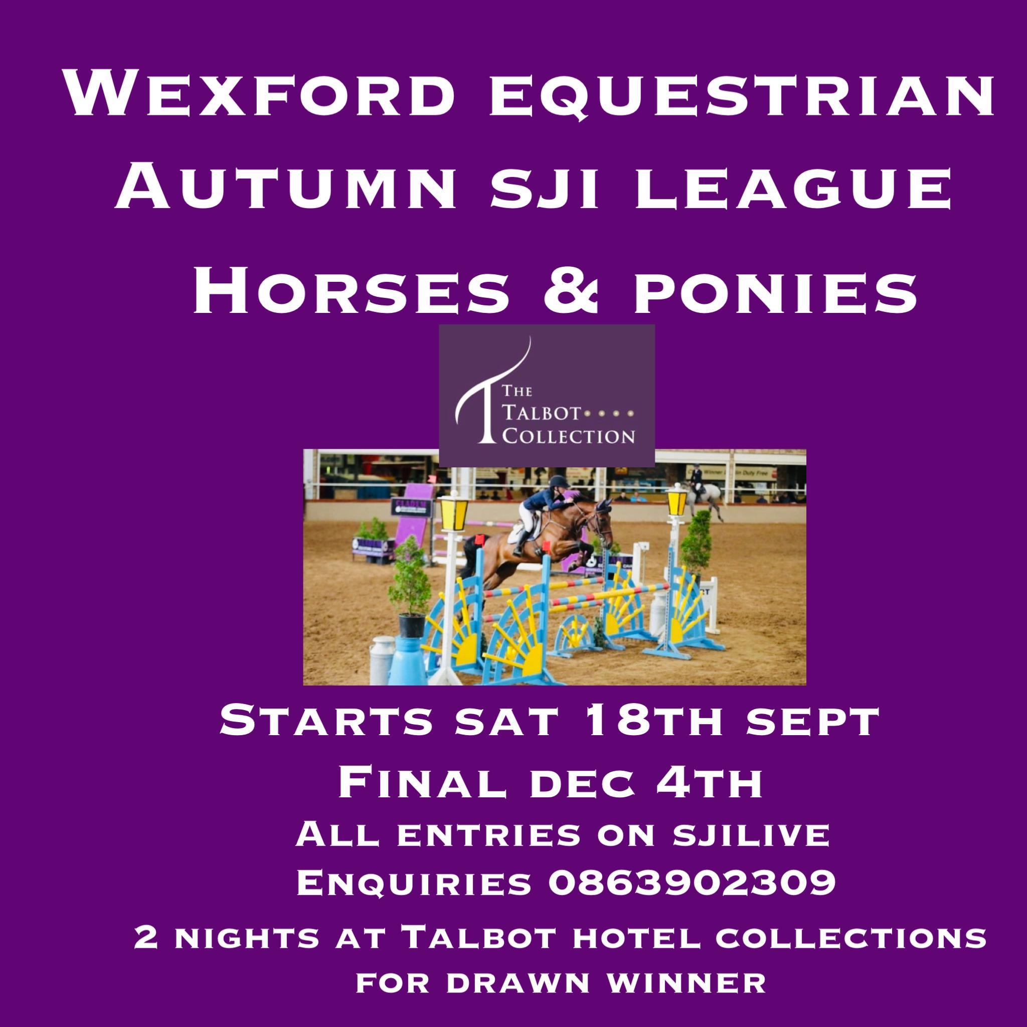 SJI SHOW JUMPING LEAGUE Horses & Ponies –  WEEK 2